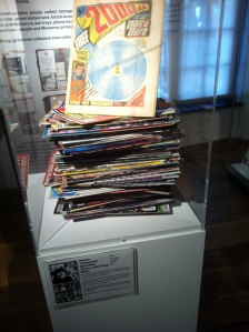A comics collection