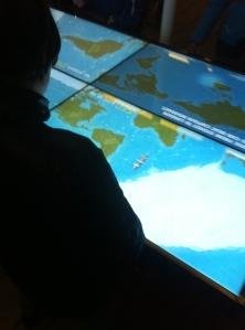 A popular navigation challenge aboard Cutty Sark
