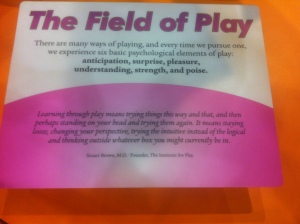 A panel about play