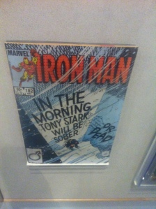 I actually remember buying and reading this issue of Iron Man
