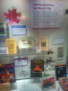 Part of the Role-Playing Games display